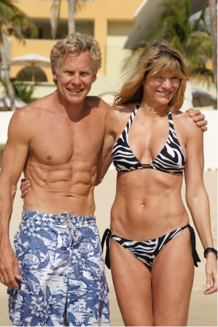 Mark and Carrie Sisson at 54 & 52 yrs old. Super inspiring!