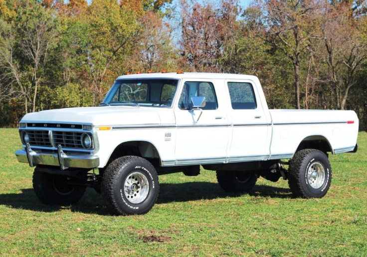 Ford Supercab Cummings Diesel.  For those who know Ford trucks, this is a major conversion.
