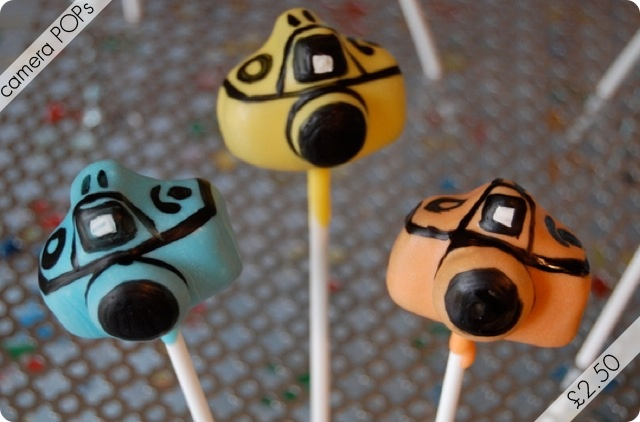 camera cake pops. Someone should make these for my birthday!!!