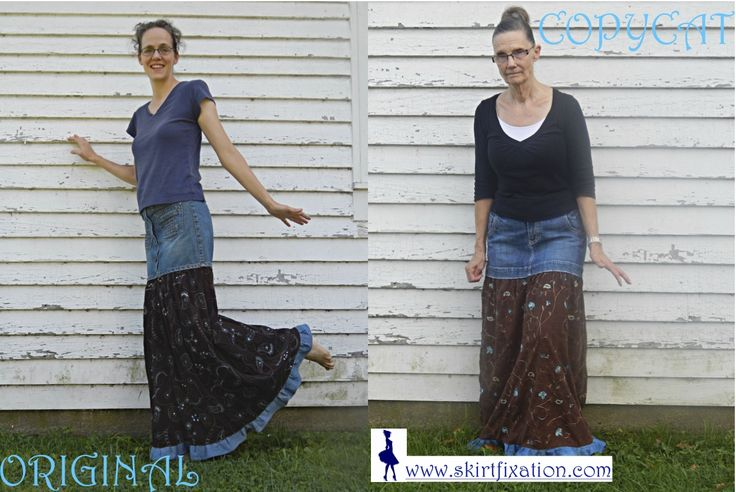 Check out our first copycat refashion at www.skirtfixation.com!