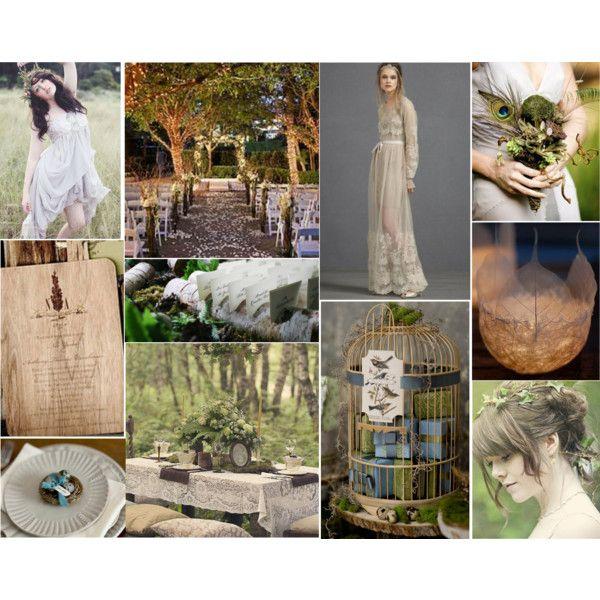Wedding Wednesday: Wedded Woodland