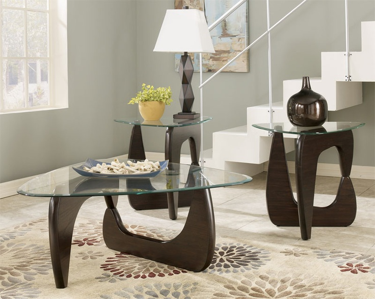 $329.99 Ashley 3-in-1 Pack Blanca Table Set. Made with select veneers - 25+ Best Images About Coffee Tables On Pinterest Counter Height