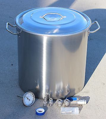 CONCORD-Home-Brew-Kettle-DIY-Kit-w-Accessories-Stainless-Steel-Beer-Stock-Pot