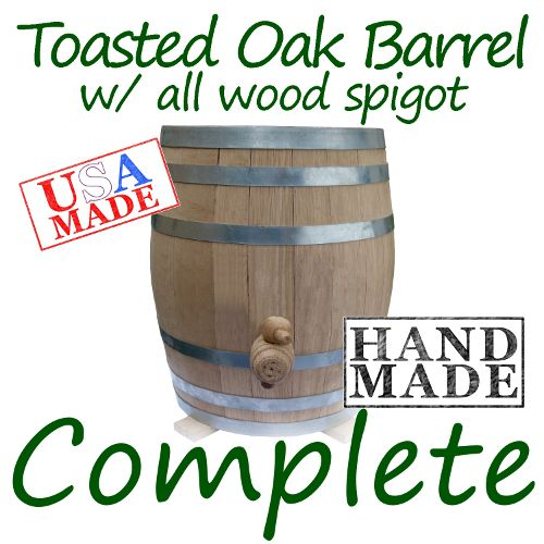 Toasted Oak Barrel Continuous Brewer Complete Package