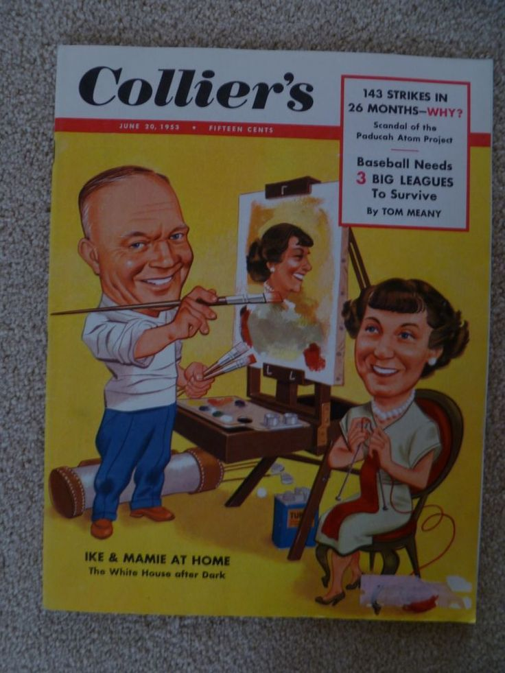 June 20, 1953 & July 11, 1953 Collier's Magazines, Baseball
