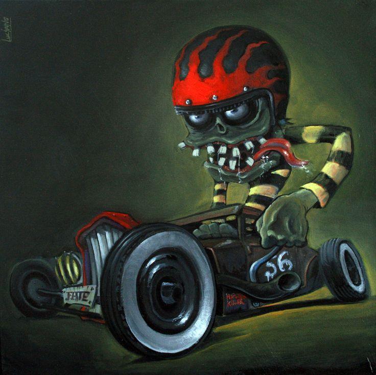 Oil paint on canvas 30cm X 30cm.HipsteRKiller!!!