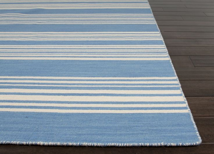 Spread such The rug company striped woven throw