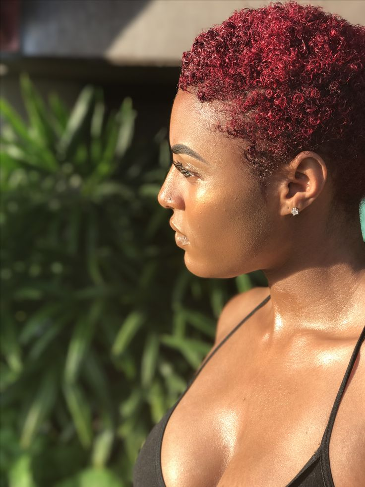 dyed red hair ideas