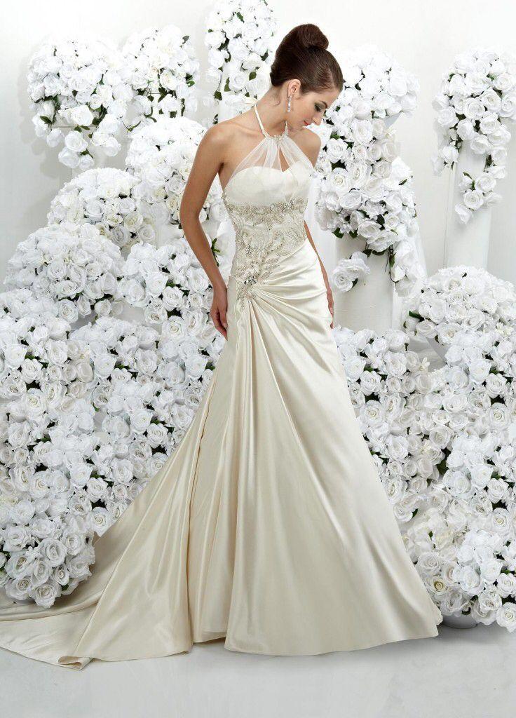 258 besten Wedding dresses Bilder auf Pinterest | Ausschnitt, Braut ...