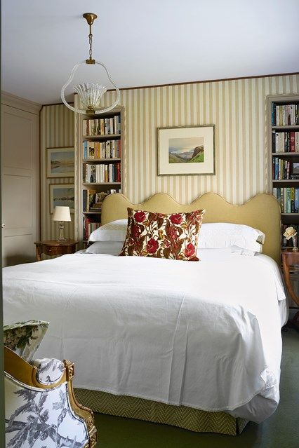 Small Bedroom With Built In Alcove Bookcases In Bookshelf Ideas. A Small  Bedroom With