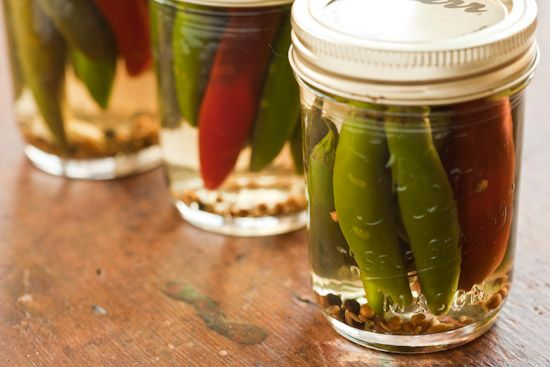 Pickled Peppers. I have lots of serranos and need something to do with them.