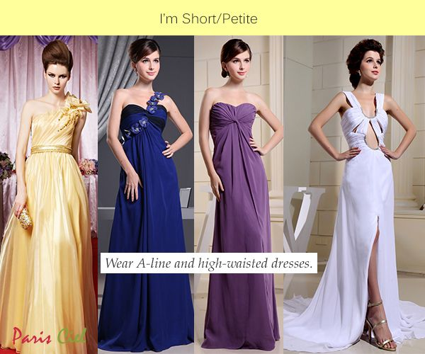 Best long dress styles for short women