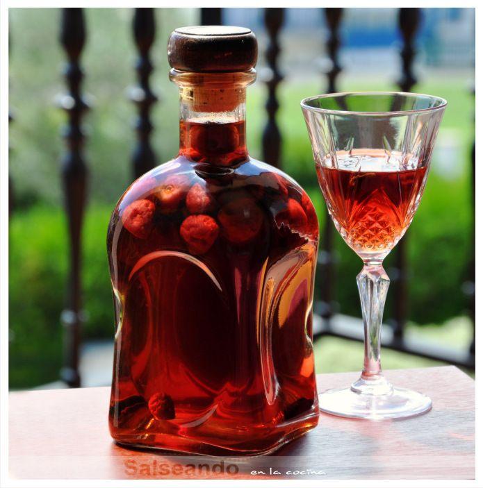 Salseando en la cocina: extraordinario licor de cerezas