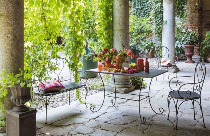 Por qué apostamos por los muebles de hierro forjado para el jardín