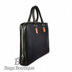 Мужской портфель Hermes Leather Shoulder Messenger business Bag