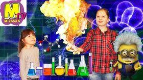 Опыты для детей Эксперименты  Друзья, мы посетили лабораторию экспериментов для детей и узнали много интересного  В этом видео мы будем проводить очень интересные химические опыты (химический вулкан, сухой лед, дымовая хлопушка, огненная рука, научная каша, теплый снег, лизуны) будет интересно! Если Вам, понравилось видео, ставьте лайк, подписывайтесь на канал :) Milaska TV- это интересное, познавательное, увлекательное видео для детей…