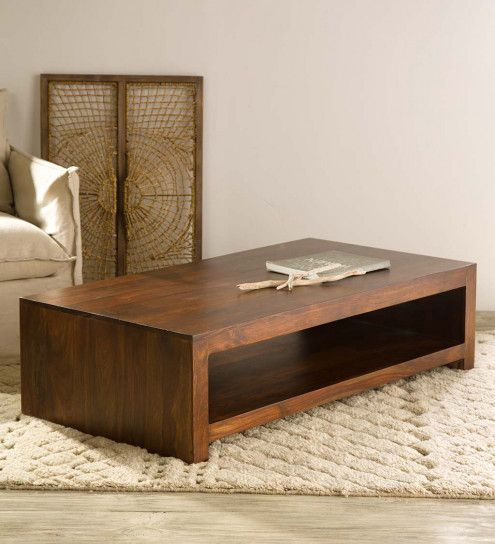 VivaTerra - Modele Sheesham Wood Coffee Table - V2648 - $475