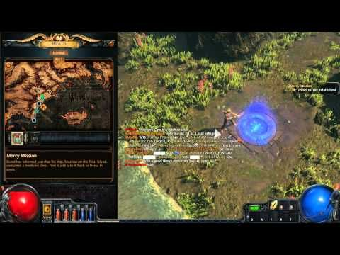 Path of Exile Starting missions - YouTube