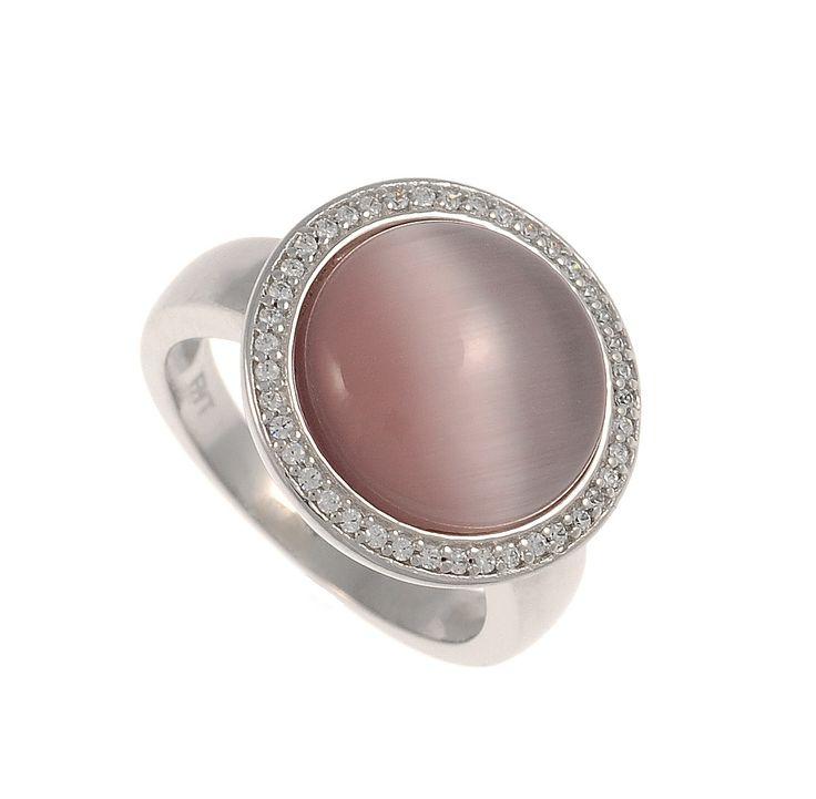 Δαχτυλίδι από ασήμι 925 με πέτρα Μάτι της Γάτας