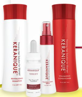 Keranique: The only FDA approved hair re-growth product!