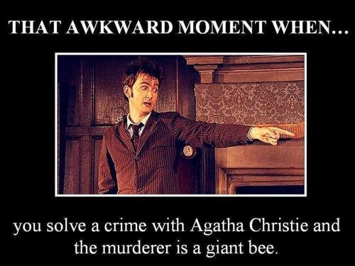 Wasp and the UnicornAwkward Moments, Clues, Doctorwho, Doctors Who, Giants Wasp, Giants Bees, 10Th Doctors, Tardis, Allons I