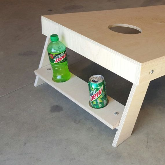 Outdoor Drink Holder ONLY | Non Painted Cornhole Boards | DIY Corn Hole Boards | UnPainted | Plain
