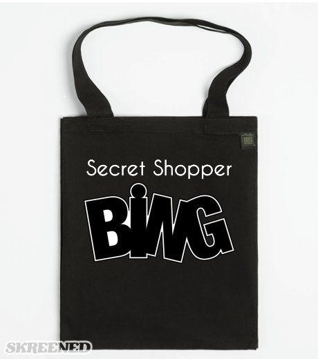 Secret Shopper - ECO Tote babg