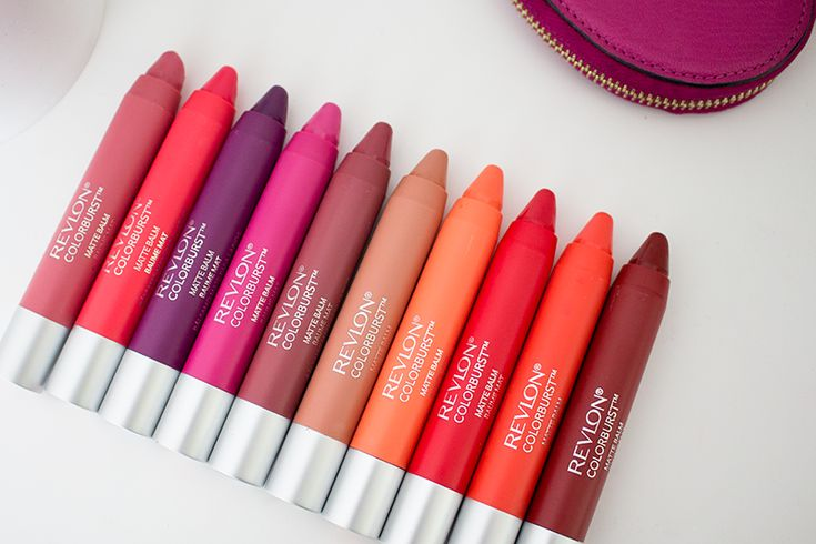 Revlon ColorBurst Crayon Matte Balms - In my opinion, these are THE BEST drugstore lip balms out there right now.