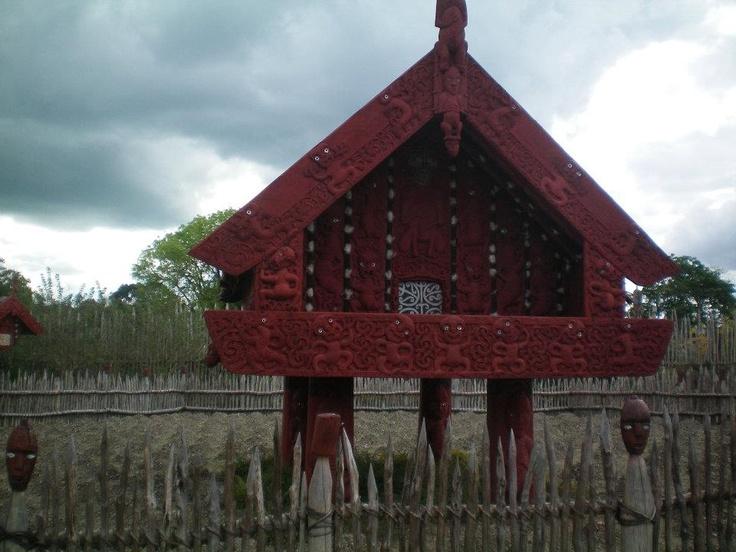Mauri hut, New Zealand