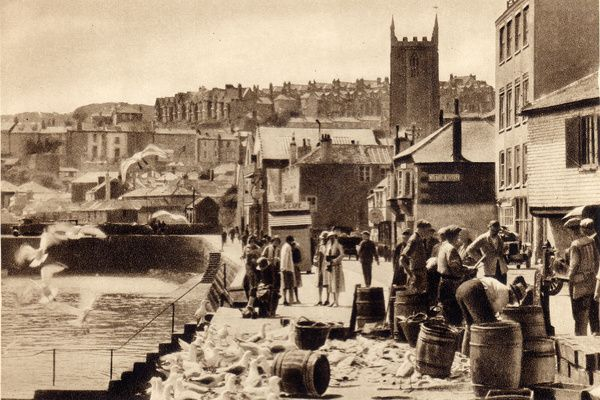 OLD PHOTOS OF ST IVES CORNWALL