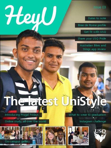 HeyU Issue 3 - 4 April 2014