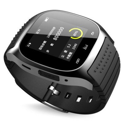 RWATCH M26 LED Bluetooth Watch with Dial / Call Answer / SMS Reminding / Music Player / Anti - lost / Passometer / Thermometer Function for Samsung / HTC + More-22.99 and Free Shipping   GearBest.com Mobile