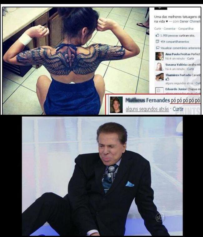 A tatuagem que gerou polêmica na internet