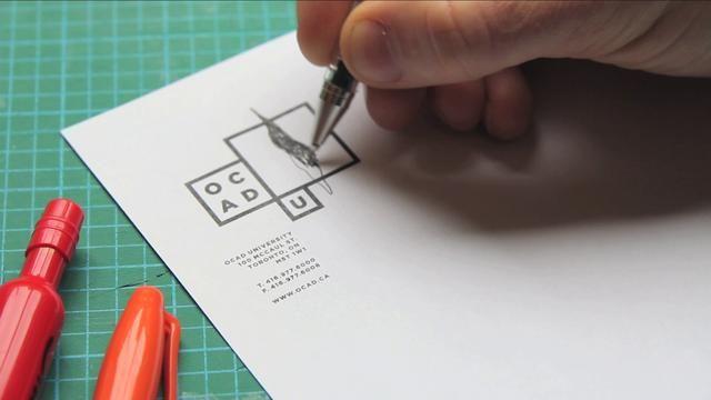 OCAD University Visual Identity by Bruce Mau Design