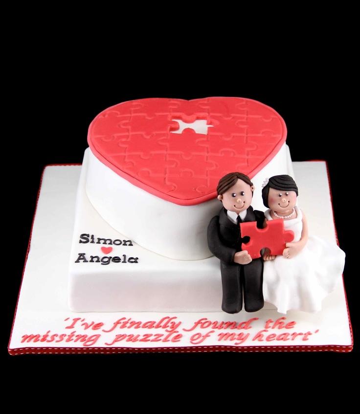 Bakerz Dad: Puzzle Wedding Cake