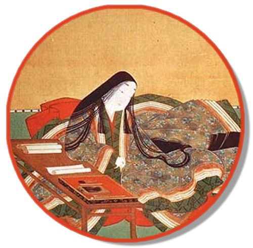 Murasaki Shikibu was a lady-in-waiting in Japan's imperial court during the Heian period, and wrote what is believed to be the first novel in human history: The Tale of Genji.