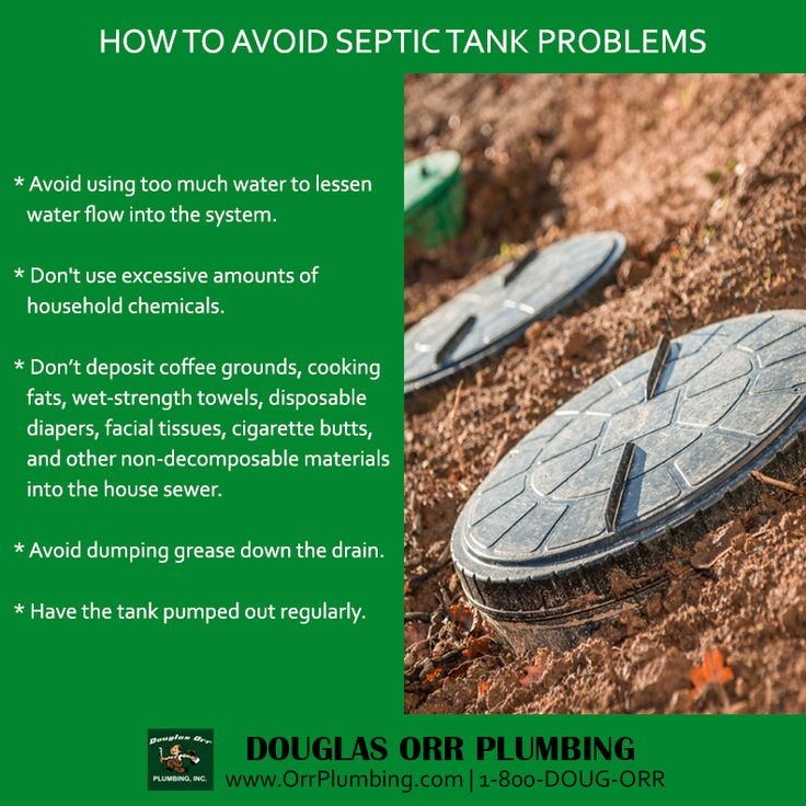 Prevent septic tank problems! Follow these tips!
