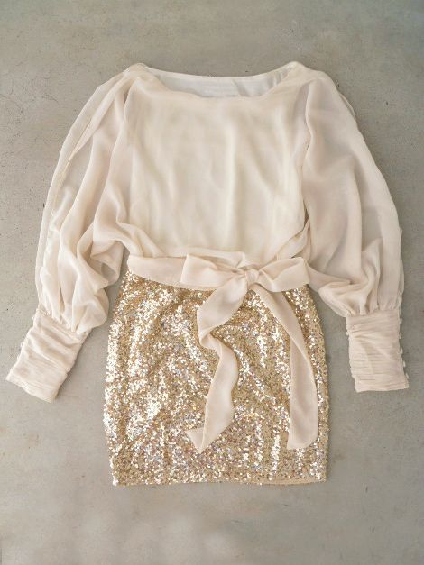 Sparkling Darling Dress in Ivory would love this to go out in