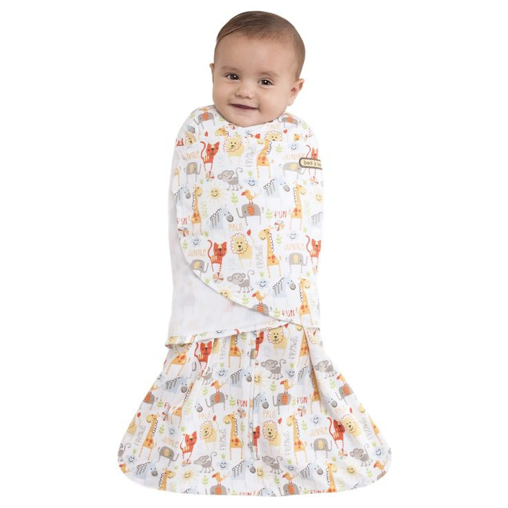 HaloSleep.com - HALO® SleepSack® Swaddle 100% Cotton  |  Yellow Jungle Pals, $28.95 (http://www.halosleep.com/halo-sleepsack-swaddle-100-cotton-yellow-jungle-pals/)
