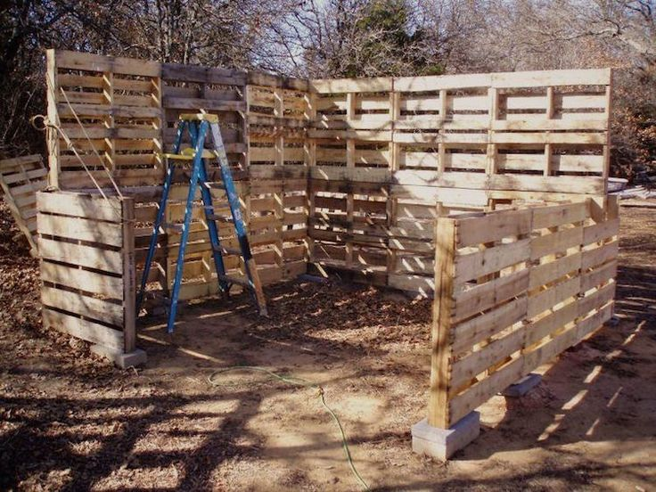 Entire Shed Built from Wood Pallets
