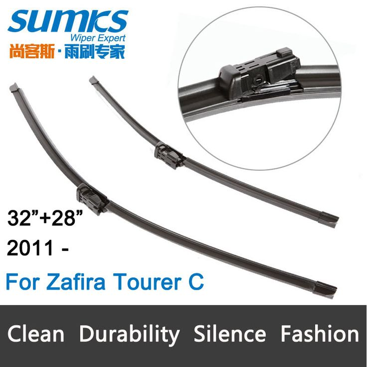 "Wiper blades for Opel Zafira Tourer C (from 2012 onwards) 32""+28""R fit push button type wiper arms only HY-011"