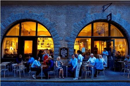 Bistrô & Grill Ruby - delícia de restaurante na cidade velha. Ótimo pré noitada. > Österlånggatan, 14.