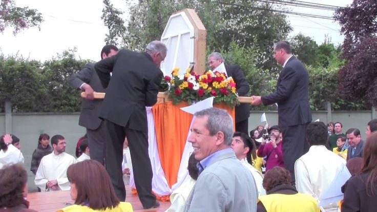 La fiesta del 18 de octubre en el santuario de Bellavista en Chile