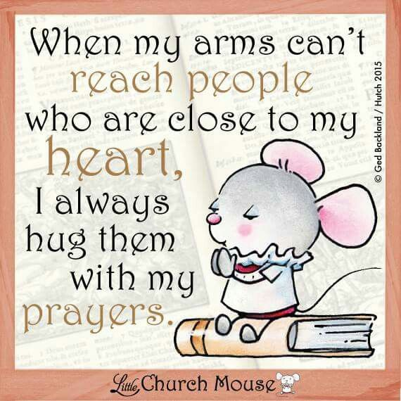When my arms can't reach People...Little Church Mouse 4 March 2015.