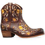 Bruine Sendra boots 10064 enkelaarsjes