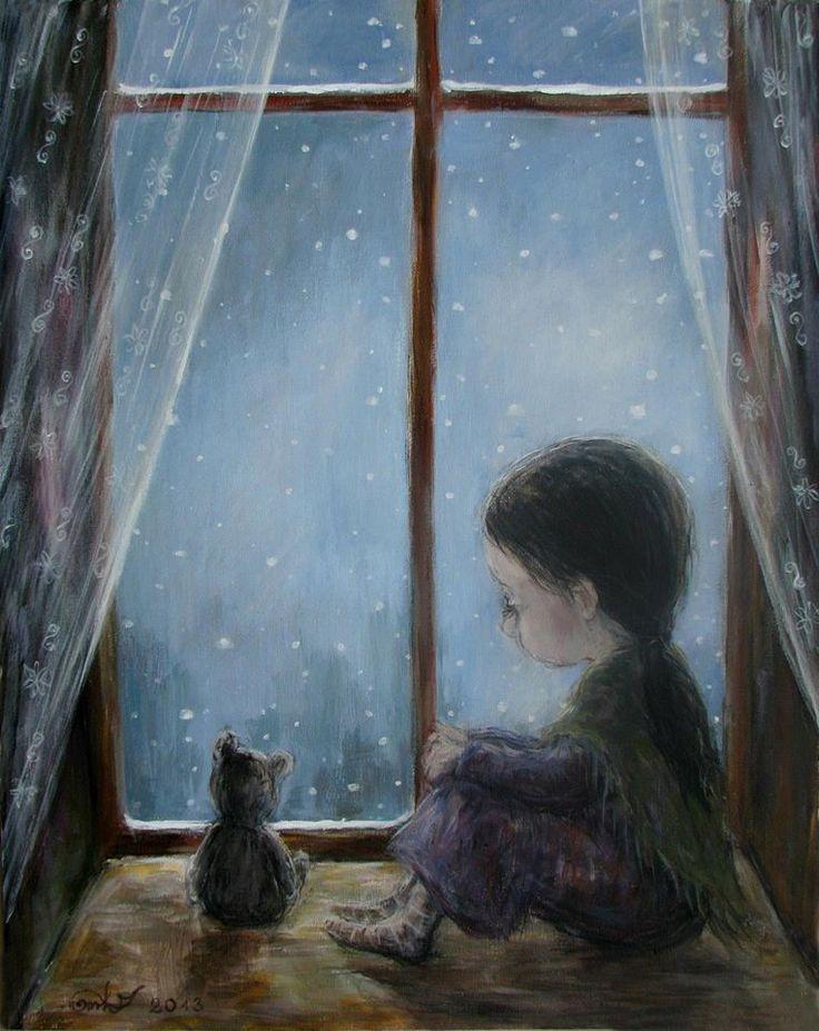 рисунок дождь за окном также