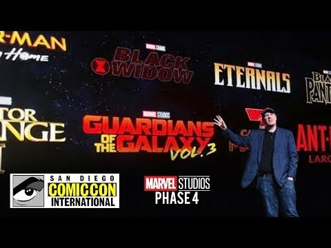 SAN DIEGO COMIC CON 2019 MARVEL PANEL ALL PHASE 4 MCU MOVIES, GAMES & TV SHOWS C…