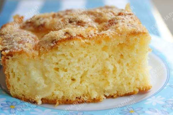 Безумно вкусный и простой, доступный и бюджетный сахарный пирог