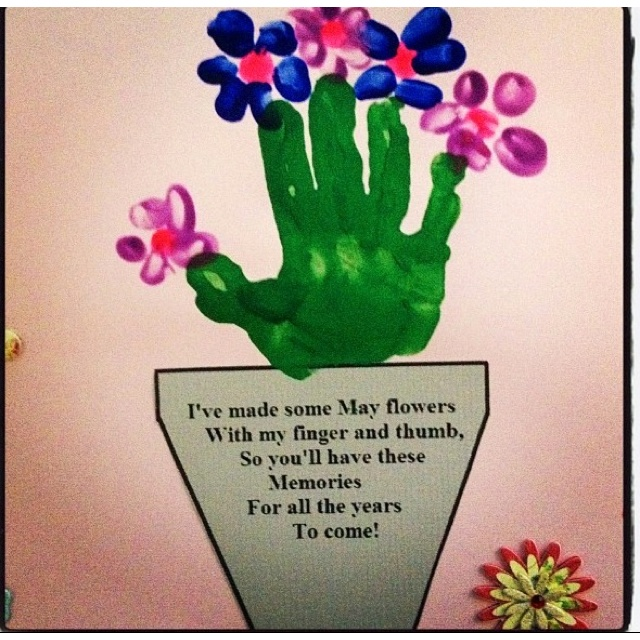 Super Cute Mothers Day Art Art And Craftiness