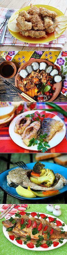 Рецепты рыбных блюд в кляре, фольге, запеченной рыбы в духовке, шаг за шагом с фотографиями.